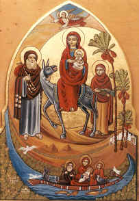 Journey of the Holy family to Egypt