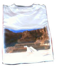 Hatshepsut temple in Luxor T-shirt