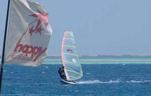 Windsurfing in Hrghada
