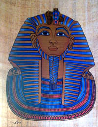 Golden Mask of king Tut ankhamun