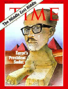 Anwar sadat , Time magazine cover