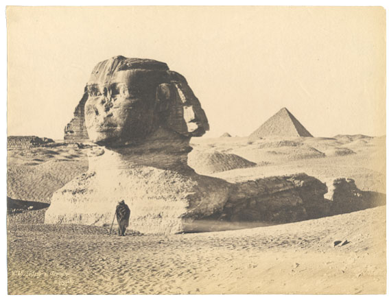 19th century photo of the Sphinx