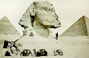 19th century Sphinx photo
